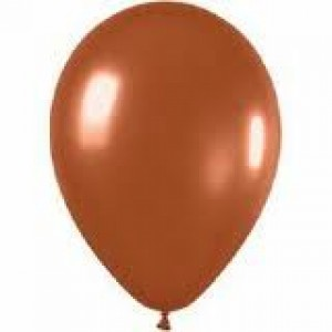 CRYSTAL BROWN LATEX BALLOON